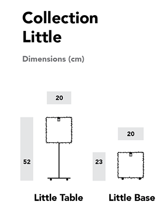 Little collection luciollle - dimensions